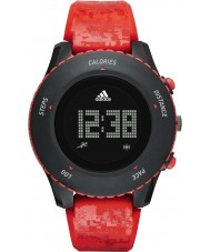 Adidas Performance ADP3259 Sprung Red Silicone Strap Watch