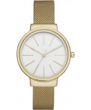 Skagen SKW2477 Ladies Ancher Gold Plated Mesh Watch