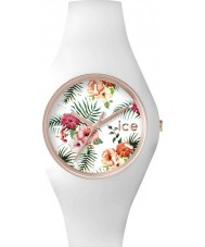 Ice-Watch 001436 Ladies Ice-Flower White Silicone Strap Small Watch