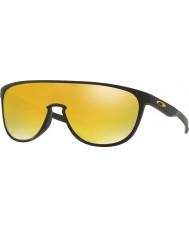 Oakley OO9318-06 Trillbe Matte Black - 24k Iridium Sunglasses