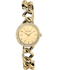 Caravelle New York 44L152 Ladies Dress Gold Steel Bracelet Watch