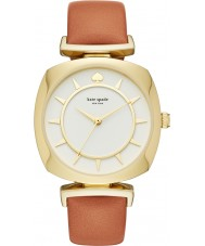 Kate Spade New York KSW1225 Ladies TV Case Light Brown Leather Strap Watch
