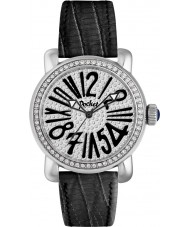 Pocket PK2026 Ladies Rond Pave Medio Black Watch