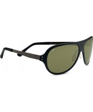 Serengeti Alice Satin Black Polarized PhD 555nm Sunglasses