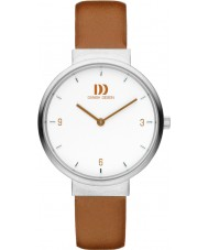 Danish Design V29Q1096 Ladies Tan Leather Strap Watch