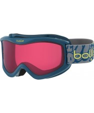 Bolle 21510 Volt Blue Graffiti - Vermillon Ski Goggles - 6 plus Years