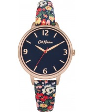 Cath Kidston CKL002URG Ladies Mew Ditsy Navy with Multicolour Print Watch