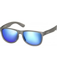 Polaroid Premium PLD3004-S PHP JY Transparent Grey Polarized Sunglasses