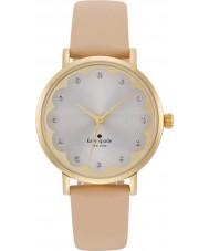 Kate Spade New York 1YRU0586 Ladies Metro Beige Leather Strap Watch