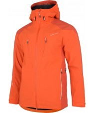 Dare2b DMW118-07G95-XXXL Mens Stalwart Pumpkin Orange Waterproof Jacket - Size XXXL