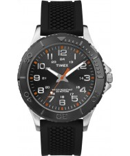 Timex TW2P87200 Mens Taft Street Black Silicone Strap Watch