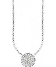 Thomas Sabo KE1491-051-14-L45v Ladies Silver Sparkling Circles Necklace