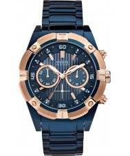 Guess W0377G4 Mens Jolt Blue Steel Chronograph Watch