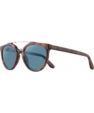 Revo RBV1006 Bono Signature Buzz Matte Honey Tortoiseshell - Blue Polarized Sunglasses