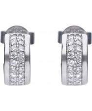 Diamonfire E5606 Ladies Pave Earrings