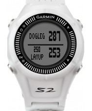 Garmin 010-01139-00 Approach S2 White and Grey GPS Golf Watch