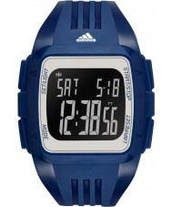 Adidas Performance ADP3265 Mens Duramo Blue Rubber Strap Watch