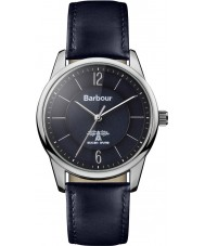 Barbour BB049BKBL Mortimer Blue Leather Strap Watch