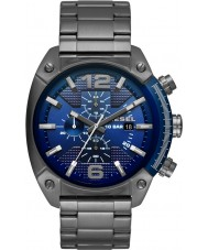 Diesel DZ4412 Mens Overflow Gunmetal Chronograph Watch