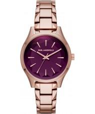 Karl Lagerfeld KL1629 Ladies Belleville Rose Gold Plated Bracelet Watch
