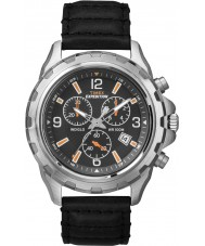 Timex Originals T49985 Mens Black Expedition Rugged Chronograph Watch