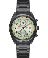 Swiss Military 6-5227-30-002 Mens Airborne Gunmetal Chronograph Watch