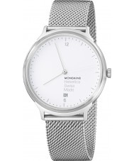 Mondaine MH1-L2210-SM Helvetica No 1 Light Watch