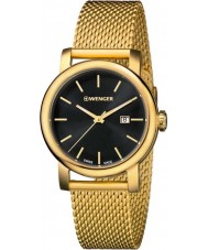 Wenger 01-1021-120 Ladies Urban Vintage Gold Plated Mesh Bracelet Watch