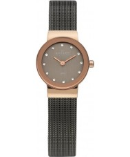 Skagen 358XSRM Ladies Klassik Grey Mesh Watch