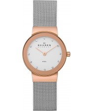 Skagen 358SRSC Ladies Klassik Rose Gold Steel Mesh Watch