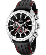 Festina F16489-5 Mens Black Chronograph Dual Time Watch