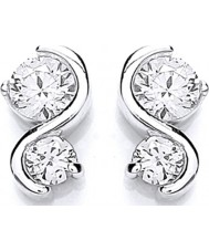 Purity 925 PUR1393ES Ladies Earrings