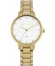 French Connection FC1281GM Ladies Gold Plated Bracelet Watch