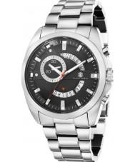 Klaus Kobec KK-20009-11 Mens Porter Silver Steel Bracelet Watch