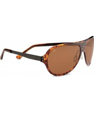 Serengeti Alice Shiny Dark Tortoiseshell Polarized PhD Drivers Sunglasses