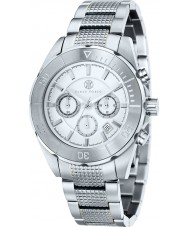 Klaus Kobec KK-20005-05 Mens Chronos Silver Tone Steel Watch