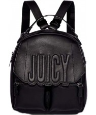 Juicy by Juicy JCH0039-PITCHBLACK Ladies Bella Backpack
