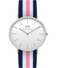 Daniel Wellington DW00100050 Ladies Classic Southampton 36mm Silver Watch