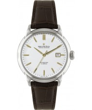 Dreyfuss and Co DGS00075-02 Mens 1925 Silver Brown Automatic Watch