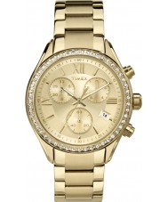 Timex TW2P66900 Ladies Miami Gold Chronograph Watch