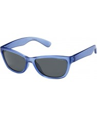 Polaroid Kids P0422 FLL Y2 Blue Polarized Sunglasses