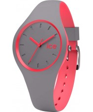 Ice-Watch 001488 Ice Duo Grey Silicone Strap Watch