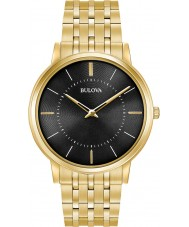Bulova 97A127 Mens Ultra Slim Gold Plated Bracelet Watch