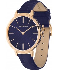 Halcyon Days HD2008 Ladies Agama Sport Navy Leather Strap Watch