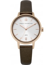 French Connection FC1280TRG Ladies Brown Leather Strap Watch
