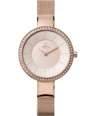 Obaku V179LEVVMV Ladies Rose Gold Plated Mesh Bracelet Watch