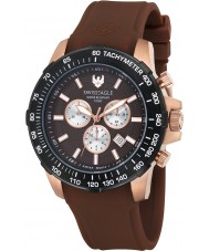 Swiss Eagle SE-9065-0B Mens Herzog Brown Chronograph Watch