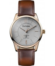 Barbour BB049RSBR Mortimer Brown Leather Strap Watch