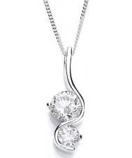 Purity 925 PUR1393P Ladies Necklace
