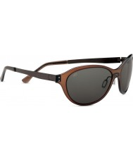 Serengeti Giustina Crystal Dark Brown Polarized PhD CPG Sunglasses